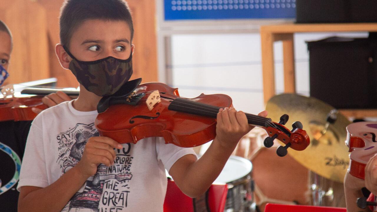 Niños y jóvenes de Jericó le abren las puertas a la música sinfónica