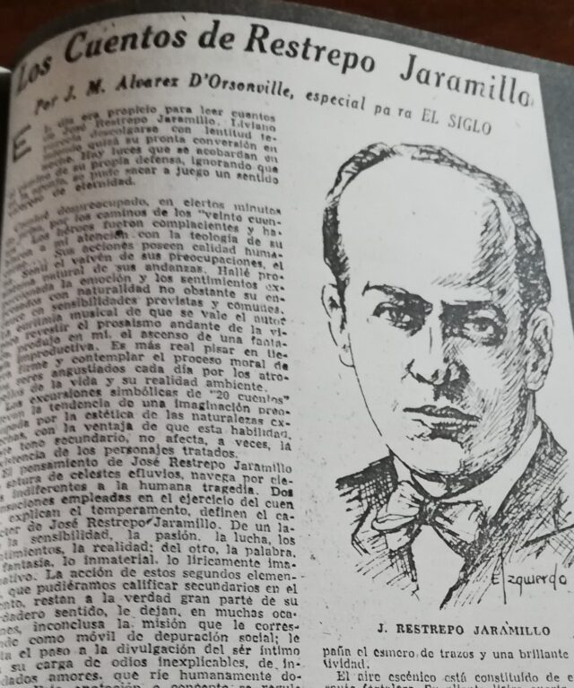 José Restrepo Jaramillo, el escritor de Jericó para el mundo