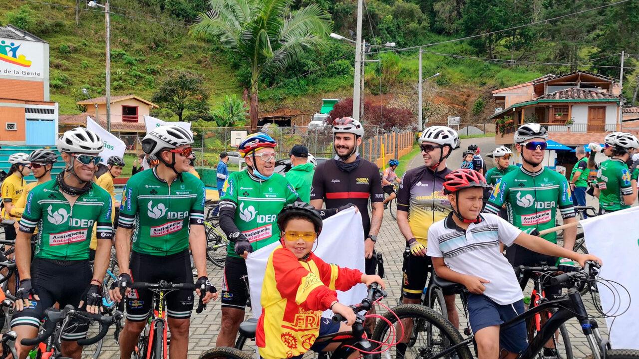 Jericó y Fredonia se abren camino en el ciclismo del país